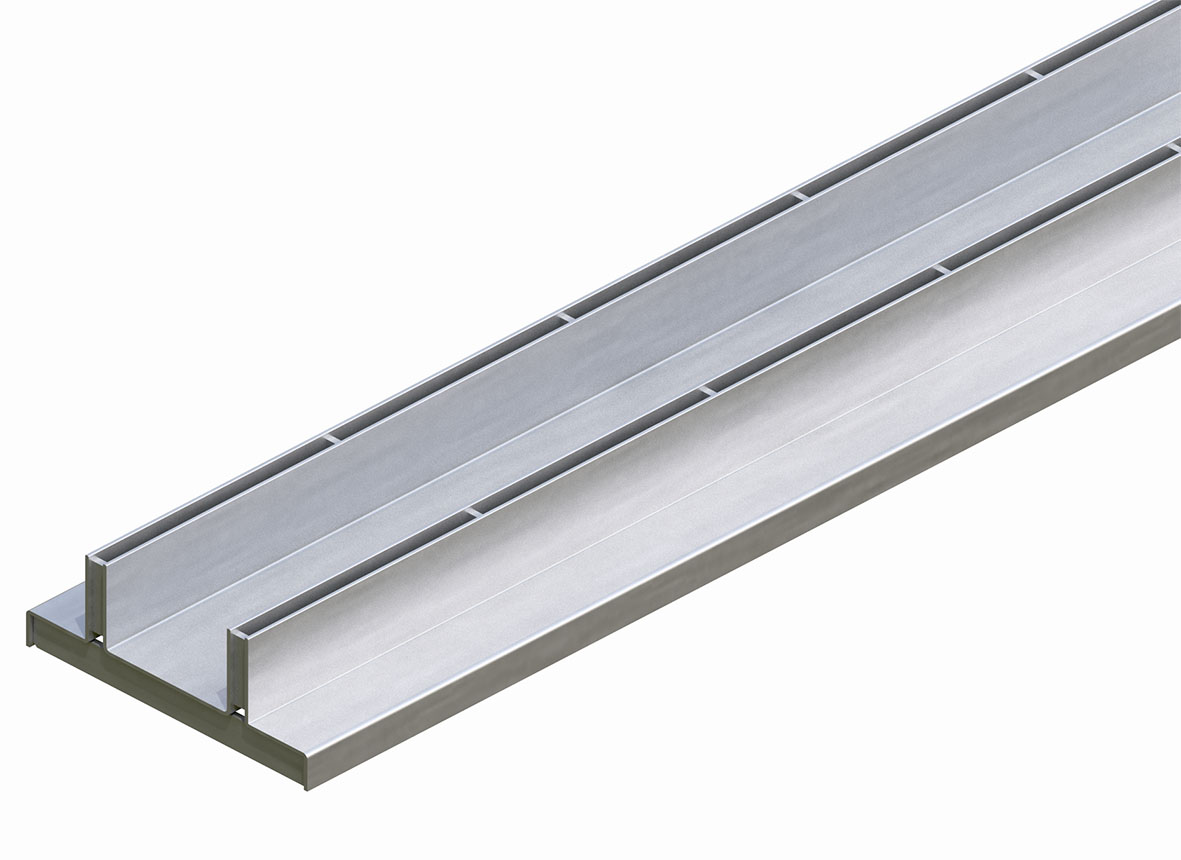 Twinslot Slotted Top Grate
