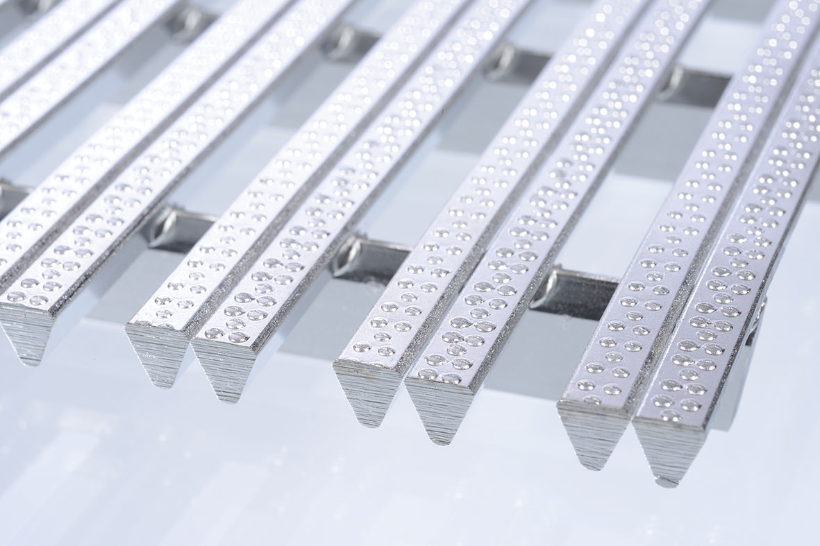 Twinwire Grate