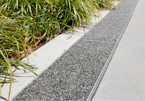 Linear Permeable Pavers